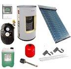 Základní solární sestava s kolektorem Apricus AP 20 a smaltovaným zásobníkem 200/2 výměníky