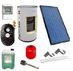 Solární systém s montáží a uvedením do provozu!!  - 2x kolektor,200 litrů nádrž, možnost dotace NZÚ