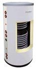 Ohřívač vody 200/2 stacionární, PUR, bílá koženka  (Zásobník TUV 200 l s dvěma výměníky)